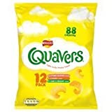 Walkers Quavers Variety Snacks 6 X 16G