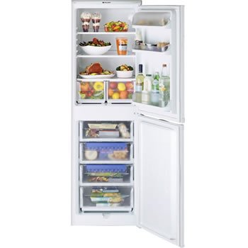 Hotpoint RFA52P  Iced Diamond fridge freezer white