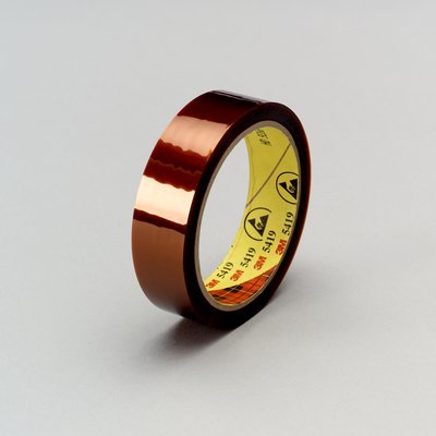 3M 5419 Gold Static Control Tape - 3/4 In Width X 2.7 Mil Thick - 30227 [Price Is Per Roll]