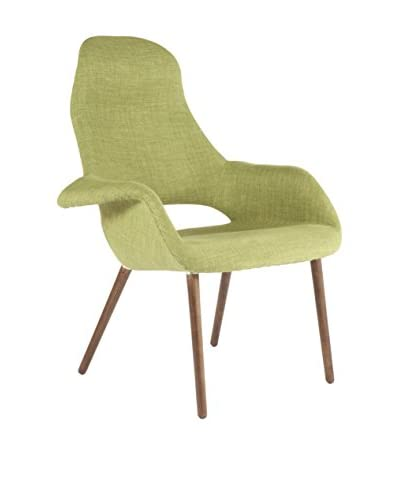 Control Brand The Organic High Back chair, Green