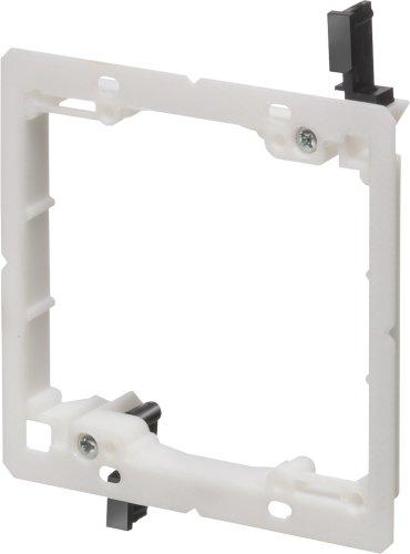 Arlington Industries LV2LP 2-Gang Low-Profile Low-Voltage Mounting Bracket , Non-Metallic, 5-Pack