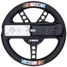 New Dreamgear Llc Wii Nascar Realistic Steering Racing Wheel Infrared Pass-Through Snap-In Design