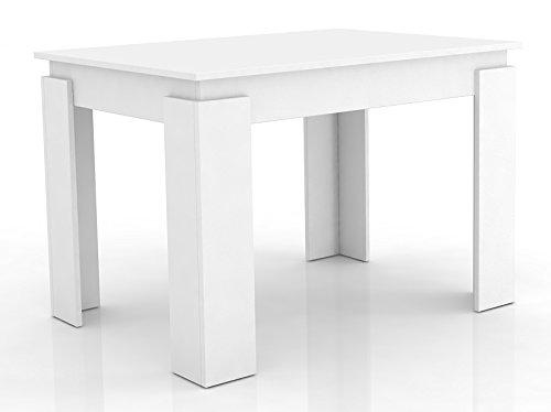 """Esszimmertisch """"Vikosa"""" 120 cm Weiß"""