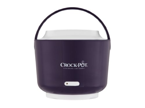 Crock-Pot Sccplc240-Pr-Shp Lunch Crock Food Warmer, 24-Ounce, Purple