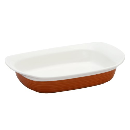 Corningware Etch 27 Ounce Side Dish In Brick front-277596