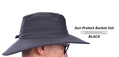 Nike Golf Sun Protect Bucket Hat White Black (Large X .. eeb6db98111