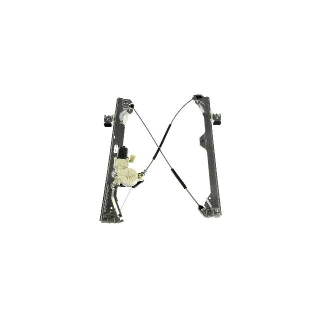 Dorman 741 444 Rear Driver Side Replacement Power Window Regulator with Motor for Select Cadillac/Chevrolet/GMC Models
