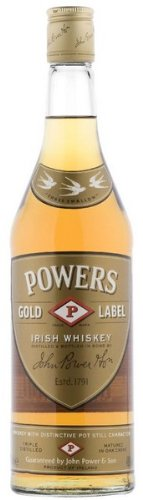 John Powers Gold Label Irish Whiskey 40 % 1 Litre