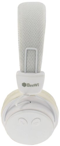 Casque BeeWi BBH120 Blanc - Bluetooth et filaire - Nomade