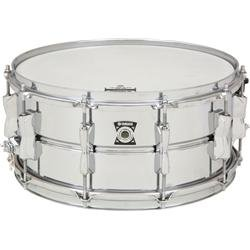 Yamaha Sd-2465 Metal Snare Series 14-Inch Snare Drum - Chrome Plated