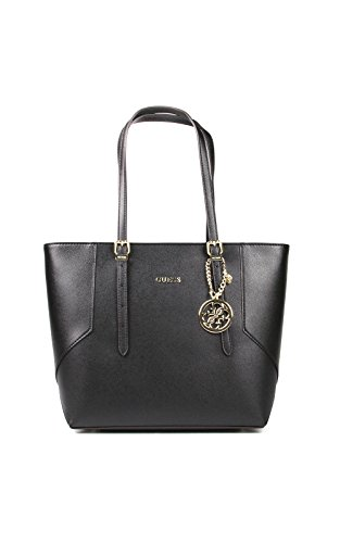 BORSA GUESS SHOPPER MEDIA ISABEAU HWISABP6386 (NERO)