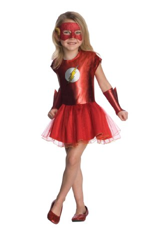 Justice League Child'S Flash Tutu Dress - Medium front-513202
