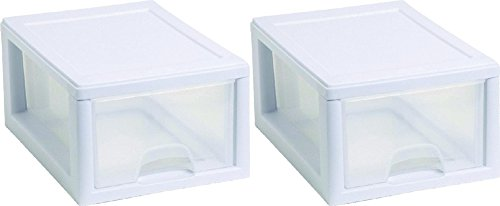 Sterilite 20518006 Stackable Storage Drawer (Pack of 2) (Stackable Storage Drawers compare prices)
