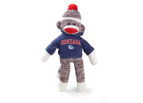 Gonzaga Bulldogs Sock Monkey at 'Sock Monkeys'