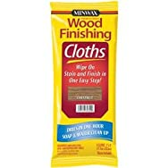 Minwax 308220000 Minwax Wood Stain & Finish Wipes-CHESTNUT STAIN CLOTH