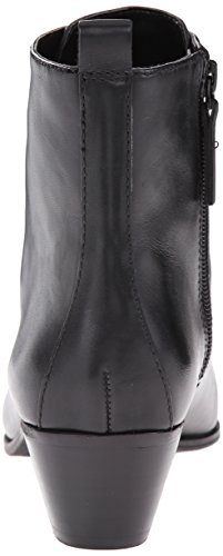 Nine West Women's Tersk Leather Boot, Black, 12 M US
