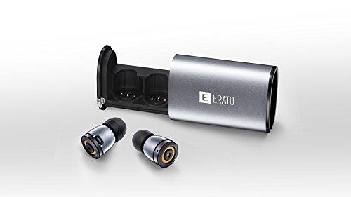 超軽量・超小型タイプの完全コードレス耳栓ワイヤレスイヤフォン APOLLO7 (スペースグレー)