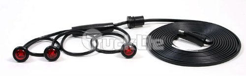 Marker Light Assy, LED, Red, Round, 3/4 Dia (Wrecker Flatbed compare prices)