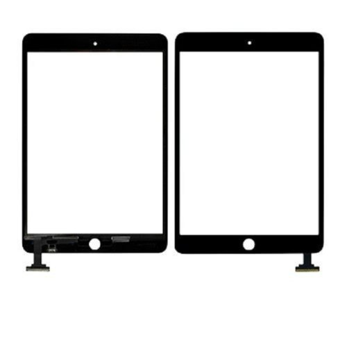 Black Ipad Mini Front Panel Touch Glass Lens Digitizer Screen Replacement Parts