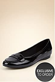 Footglove™ Fashion Leather Penny Loafers with Insolia® & Silver Technology Size 8.5 - 9