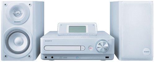 SONY HDD/CD対応 ハードディスクコンポ HDD80GB CMT-E300HD/W ホワイト