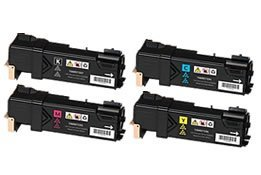 Toner Cartridges Set for Xerox Phaser 6500 Workcentre 6505 6500DN KCMY High Yield 3,000 Pages Premium Quality Compatibles 12 Month Warranty