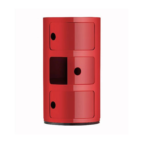 Kartell-496710-Container-Componibili-rot