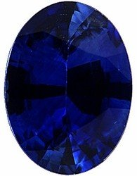 Oval Shape Blue Sapphire Loose Gemstone, Quality Grade, A 0.35 carats 5.00 x 3.00 mm