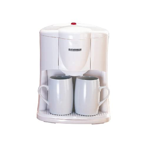 Severin Coffee Maker (1-2 cups) - white - KA 9213