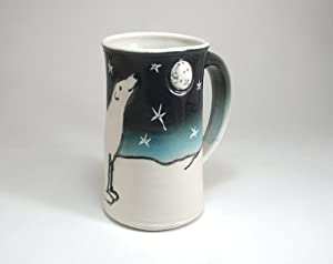 Polar Bear Mug, Porcelain Bear Coffee Cup