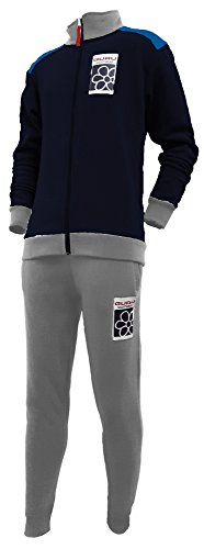 pigiama tuta in felpa uomo GURU full zip art.2780 new collection (M, blu)