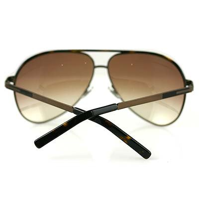 GUCCI 1827S CHOCOLATE METAL BROWN SUNGLASSES