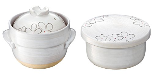 イシガキ産業 アート花物語 ごはんセット(炊飯鍋とおひつのセット) 3847