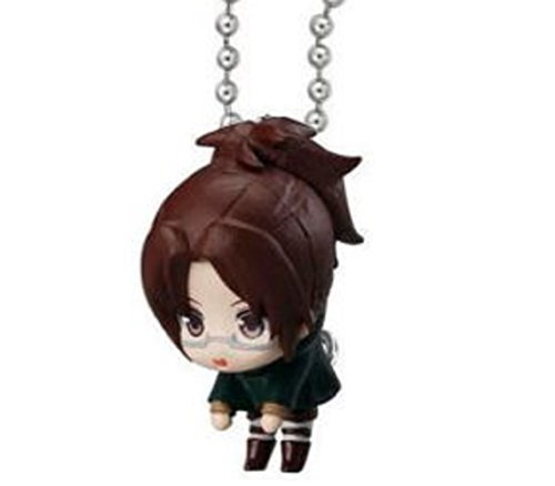 Attack on Titan Tsumande Tsunagete Mascot Part 2~Figure Swing Keychain~Hange Zoe