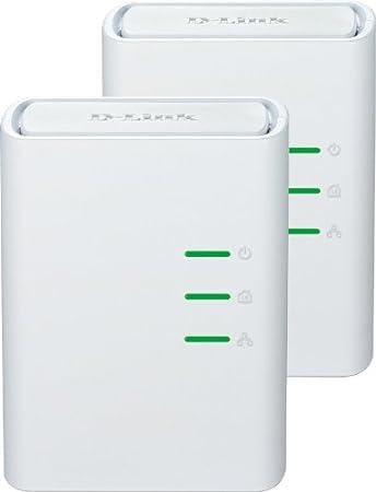 D-Link - DHP-309AV Kit de 2 Adaptateurs CPL Ethernet 200 Mbps Blanc
