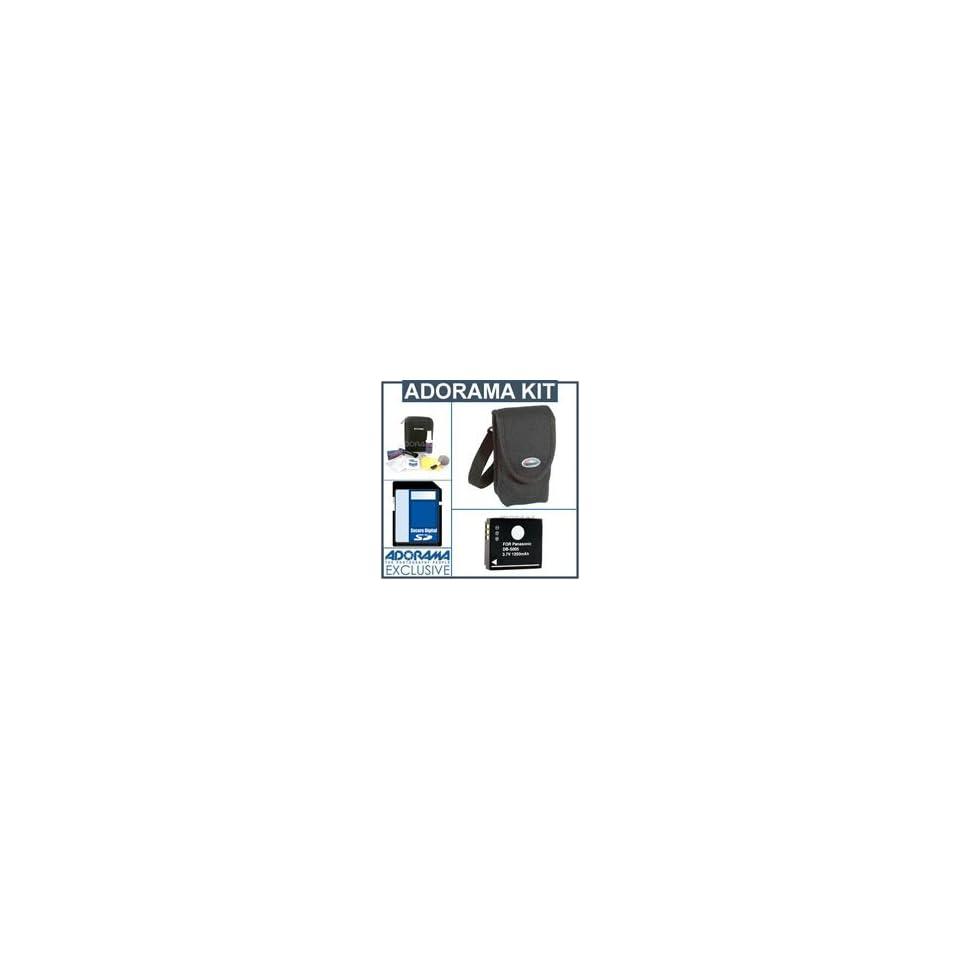 SDCGAS008 Battery SDM-178 Charger SDC-21 Case Panasonic Lumix DMC-FX33 Digital Camera Accessory Kit includes: USB8PIN USB Cable KSD2GB Memory Card