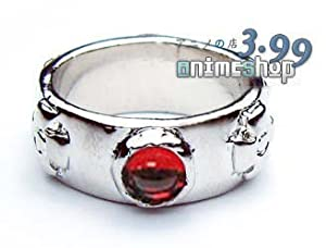 Red Ring Suitable for Cosplay of Wizard Howl From Howl's Moving Castle