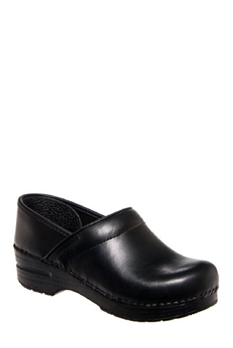 Dansko Professional Oiled Full Grain Clog - Ebony