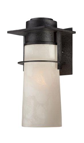 Quoizel DRE8408IR Drew17 Inch H 1 Light Outdoor Wall Fixture