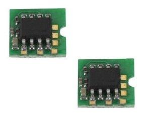 Toner Chip für HP LaserJet & LaserJet Pro Laserdrucker M1210, M1210mfp, M1212, M1212nf, M1213nf, M1217nfw, M1130, M1132, M1132mfp, M1134, M1134mfp, M1136, M1136mfp, P1100, P1101, P1102, P1102w, P1103, P1104, P1104w, P1106, P1108 - ZWEI SCHWARZE