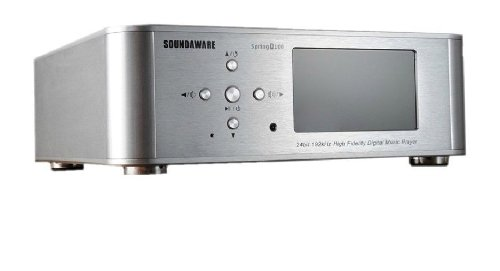Soundaware Spring D100 Digital Turntable Digital Music Player silver