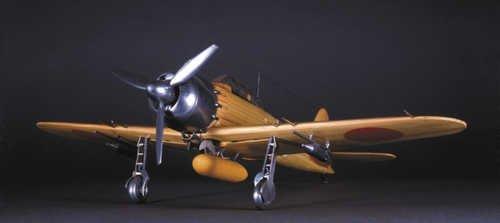 木製飛行機模型  1/24 零戦 零式艦上戦闘機 52丙型 p-6417
