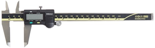 Mitutoyo 500-197-30 Advanced Onsite Sensor (AOS) Absolute Scale Digital Caliper, 0 to 8