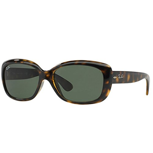 Image of Ray-Ban JACKIE OHH - LIGHT HAVANA Frame CRYSTAL GREEN Lenses 58mm Non-Polarized