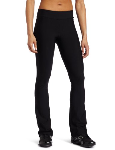 Reebok Women's Easy Tone Pants, Black, Large