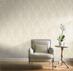 Gran Deco Scandanavia Wallpaper - Cream by New A-Brend