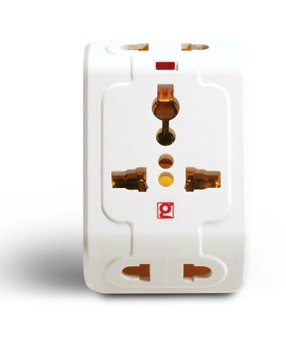 GoldMedal 3 PIN TRAVEL MULTI PLUG Spice 3 Pin Travel Adaptor [PACK OF 1]