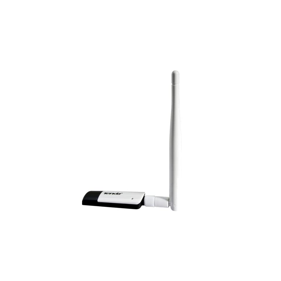Tenda High Power Wireless N USB Adapter Dongle with a Detachable 4.2dBi Antenna   802.11 B, G, N,   150Mbps   For Windows, MAC or Linux