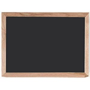 "Black Chalk Board Size: 24"" H x 36"" W"