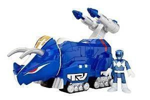 Choice Fisher-Price Imaginext Power Rangers Blue Ranger And Triceratops